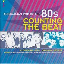 AUSTRALIAN POP OF THE 80s VOLUME 1 COUNTING THE BEAT VARIOUS ARTISTS 2 CD NEW