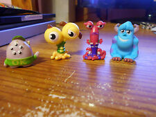 Monsters Inc Sulley And Other Monster Mini Figures, Lot of 4. Disney Pixar  EUC