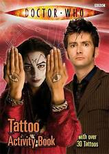 Doctor Who: Tattoo Activity Book by Annabel Gibson, BBC (Paperback, 2008)