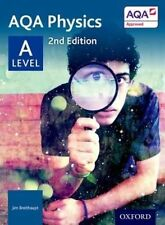 AQA Physics A Level 2nd Ed Student Book by Jim Breithaupt (Paperback, 2015) NEW