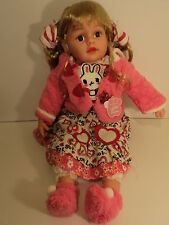 Baby Doll Girl Massive Large 58cm Doll New Packaged Pinky Cute Kitty WL