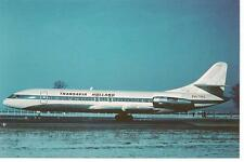 TRANSAVIA HOLLAND - CARAVELLE 6R - PH-TRS - CP CPA CARTE NEUVE - POSTCARD NEW