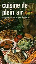 Livre cuisine de plein air au jardin en pique-nique éditions S A E P