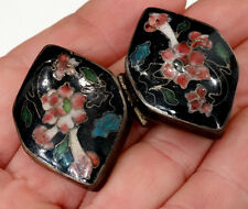 Finely Detailed! ANTIQUE Vintage CHINESE JAPANESE China Japan CLOISONNE PILL BOX