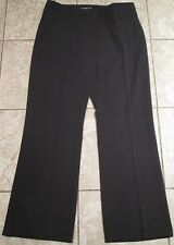 A PAIR OF SMART BLACK TROUSERS BY ATMOSPHERE SIZE 16 EU44 - SEE MEASUREMENTS