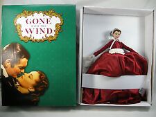 "GWTW TONNER SCARLETT O'HARA VIVIEN LEIGH 2013  RED DRESS  16"" DRESSED DOLL NRFB"