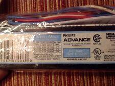 Philips Advance Ballast ICN-1P32-N Fluorescent F32 F25 F17 T8 Lamps Multi-Volt
