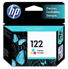 NEW HP 122 TRI-COLOR Original Ink Cartridge Deskjet CH562HL, Inkjet Printer