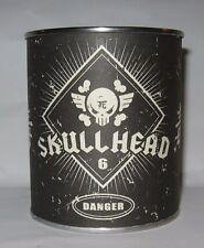 Fully Visual SKULLHEAD Huck Gee 37/100 Silver Plated Metal Limited Skull Signed