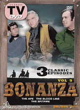 BONANZA Vol.5 The Ape The BloodlineThe Spitfire DVD 3 Classic Episodes All Zone