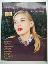 Book. Rowan Knitting Magazine. Number 22. Published in 1997. Paperback.