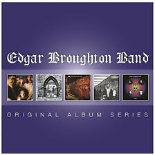 Edgar Broughton Band ORIGINAL ALBUM SERIES Box Set WASA WASA New Sealed 5 CD