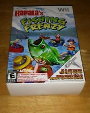 Wii Rapalas Fishing Frenzy includes All In One Rod and Reel Combo