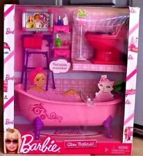 Barbie Glam Bathtub Doll House Cloth Furniture Addition Home Suit Toy Accessory