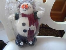 "KIP creations 7"" snowman decoration"