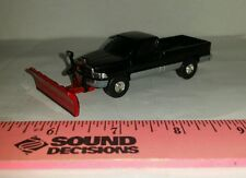 1/64 CUSTOM ERTL farm toy 97 dodge 2500 straight snow plow blade pickup truck