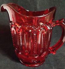 32oz Moon & Stars RUBY RED Pitcher LG Wright