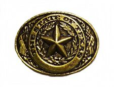 Anstecker Pin The State of Texas Lone Star Sheriffstern Sheriff Western Country