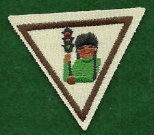 VINTAGE GIRL SCOUT BADGE - BROWNIE TRY-ITS IT - SAFETY SENSE