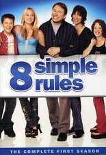 8 Simple Rules: The Complete First Season [3 Discs] (2007, REGION 1 DVD New) WS