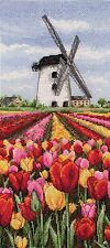 Anchor-counted cross stitch kit-dutch tulips landscape-PCE0806
