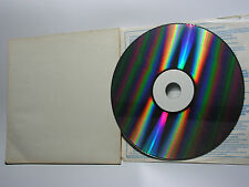 Space ACE LASER DISC Prototype CDV 7384 al Sonopress Germany White Label prototipo