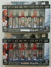 2 X SERIAL #ED PEZ LIKE BOX SETS OF SPIDERMAN 3! 2007! 00067/20000! AU'SOME/KLIK