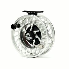 Nautilus NV Spey 400-550 Reel, Silver, LH Retrieve, New, FREE SHIPPING