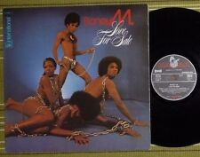 BONEY M, LOVE FOR SALE, LP 1977 GERMANY EX-/EX LAMINATED/SL CLUB EDITION