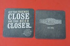 COASTER ~ ROCK BOTTOM Brewery Est 1991; Keep Your Friends Close and Beer Closer!