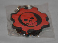NEW! Original GEARS OF WAR Omen Keychain Key RING (Red) FAST SHIPPING!! Rubber