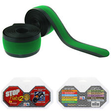"STOP FLATS V2 20"" X  2.125"" BMX BIKE GREEN BICYCLE TIRE LINERS"