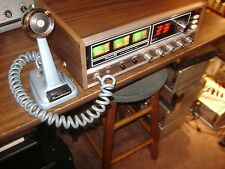 Vintage Royce 624 Base Station CB Radio 23 Channel Turner +2 Desk Mike/Manual