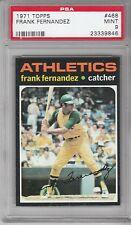 1971 Topps Baseball Frank Fernandez #468 PSA 9