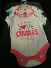 girls babygrows 3-6 months and 6-9 months new no tags