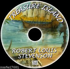 TREASURE ISLAND ROBERT LOUIS STEVENSON SUPERB MP3CD AUDIO BOOK CLASSIC NOVEL NEW