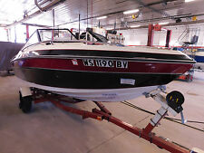 17' Mirage 170BR 165HP Mercruiser In/Outboard Calkins Trailer T1263589