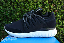 ADIDAS ORIGINALS TUBULAR RADIAL SZ 11.5 CORE BLACK VINTAGE WHITE S80114