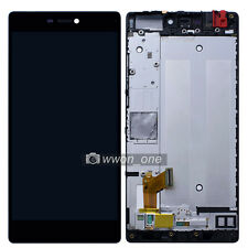 5.2'' Black Huawei P8 Standard LCD Display Touch Screen Digitizer Assembly Frame