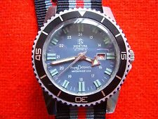 Vintage Rare  MORTIMA  Super Datomatic Diver French Watch.