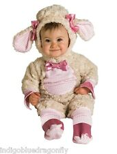 Baby Girl Easter Lamb Costume 0-6 Months Infant Super Soft Cuddly Adorable NEW!