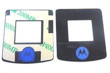 Motorola V3i LCD Display Aussenglas Glas Lens Screen Front Scheibe inkl Kleber