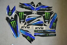 F X  TEAM  MONSTER GRAPHICS YAMAHA YZ450F YZF450  2010  2011  2012  2013