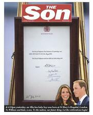 Prince William And Kate Middleton Birth Of Royal Baby George The SUN Newspaper