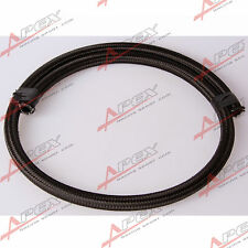 Black NYLON cover braided 1500 PSI -4AN AN4 Oil Fuel Gas Line Hose NH-4