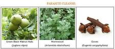 Parasite/Worm Cleanse Pack ~ Black Walnut Hull Tincture, Wormwood, Clove Capsule