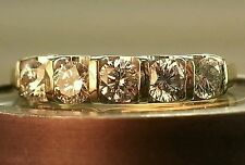 Leo DIAMOND .60ct 14k Ring size 5. SI1/SI2 (G-H) Lowest Price On Ebay & Web