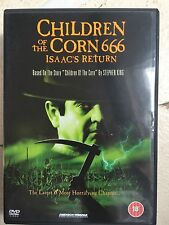 Nancy Allen Stacy Keach CHILDREN OF THE CORN 666 ~ ISAAC'S RETURN  Horror UK DVD