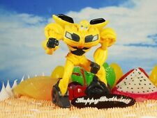 Cake Topper Transformers Robot BUMBLEBEE Action Figure Model Statue K1113_B