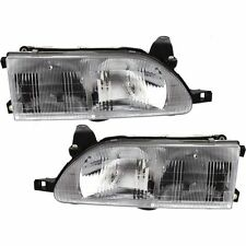 1993 1994 1995 1996 1997 TOYOTA COROLLA HEADLIGHTS HEADLAMPS PAIR